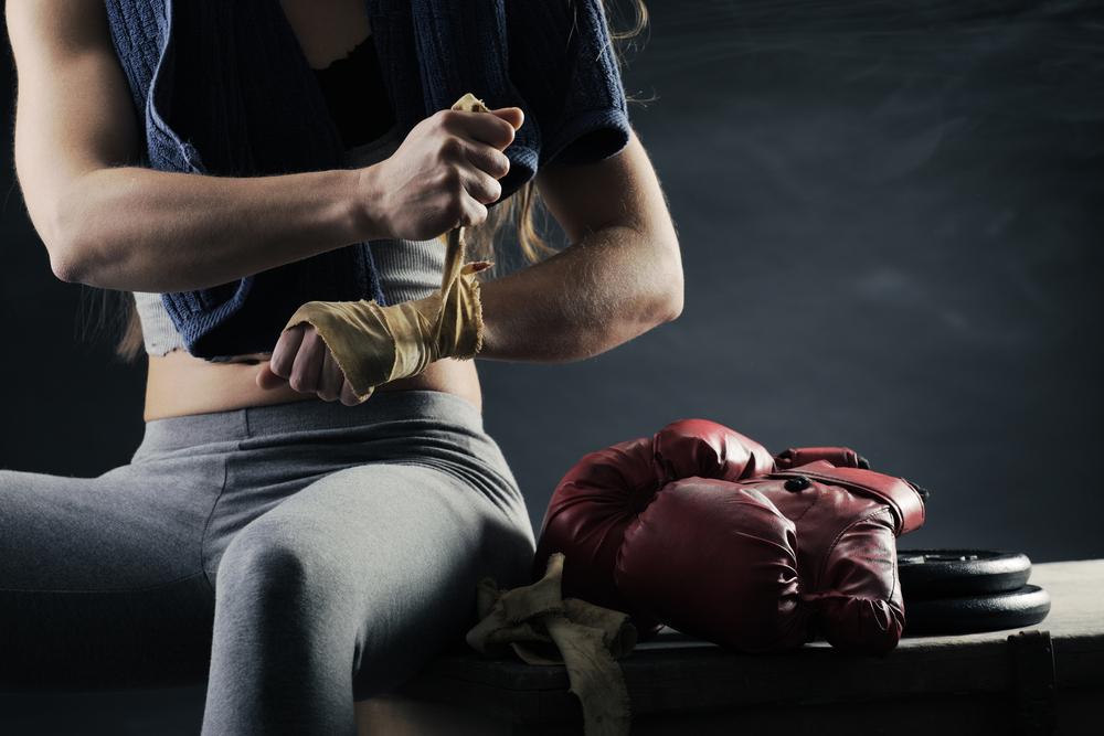 boxe anglaise bandage