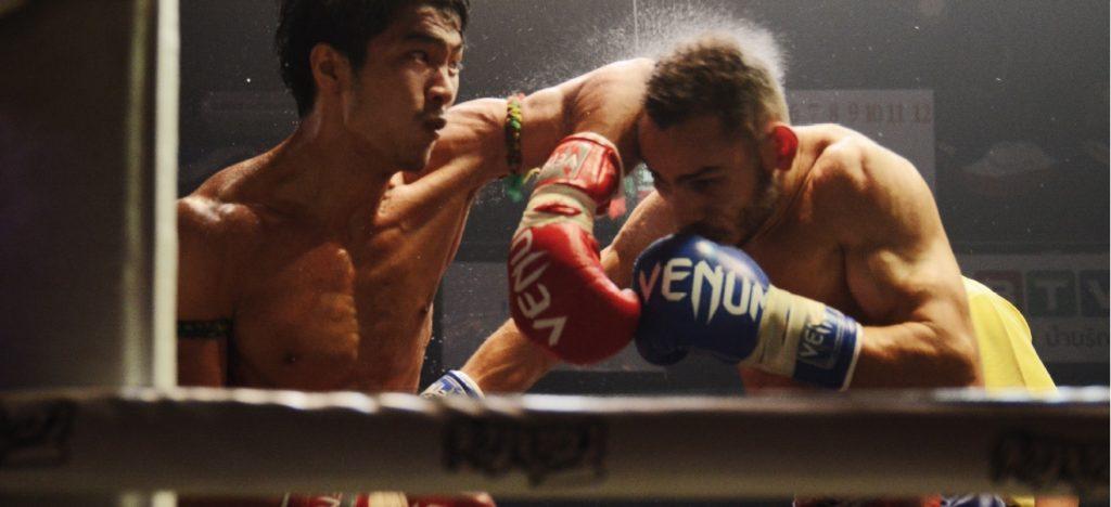 boxe thai coude