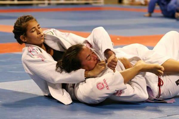 judo etranglement