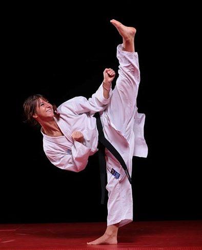 karate feminin